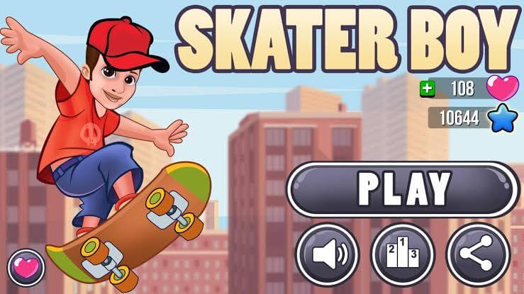 game skateboard android terbaik - skater boy