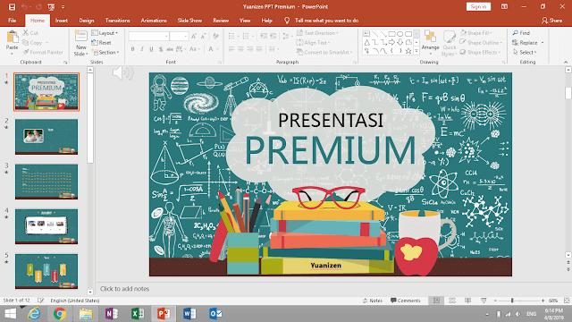 cara membuat presentasi power point yang menarik
