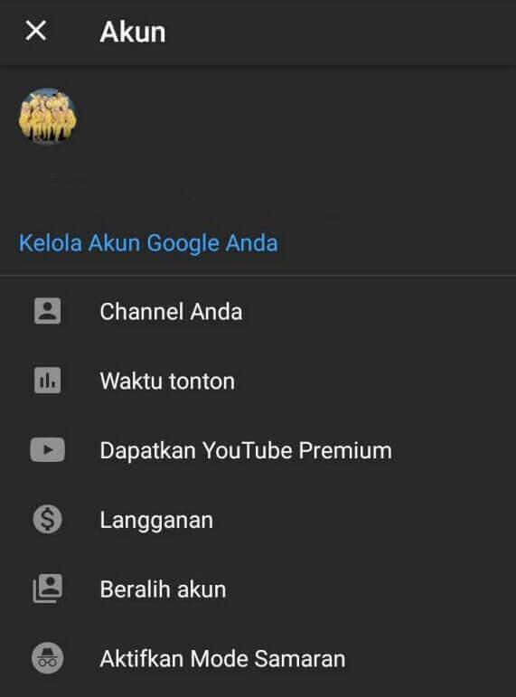 dapatkan youtube premium