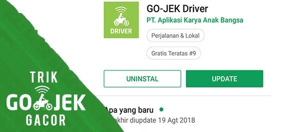 update aplikasi gojek