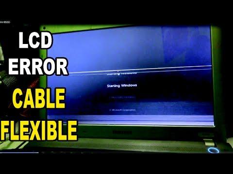 layar lcd error