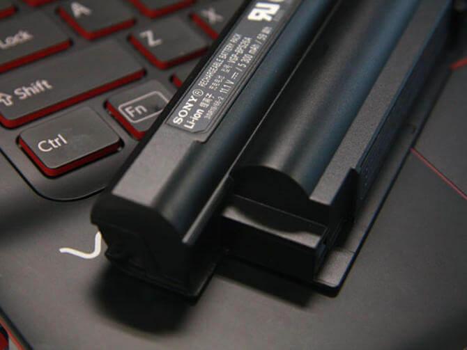 cek baterai laptop