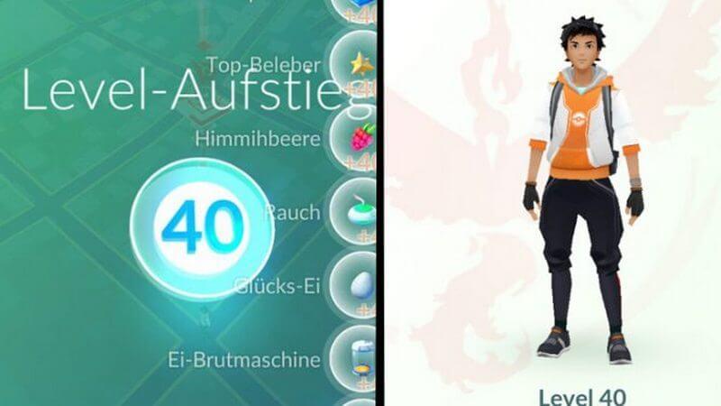 level tertinggi pokemon go