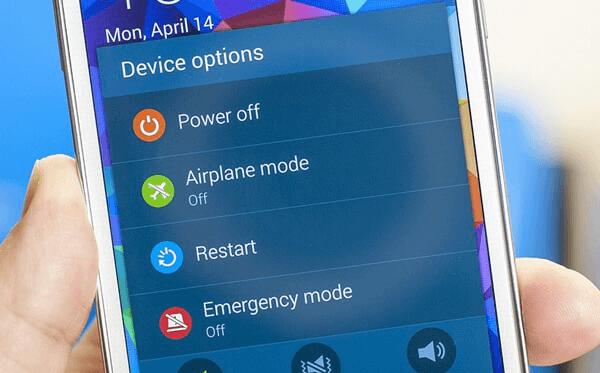 restart handphone