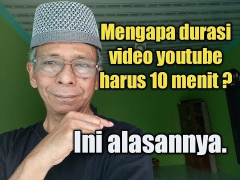 video youtube harus 10 menit