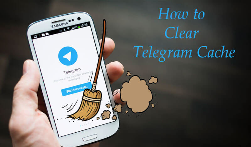 clear cache telegram