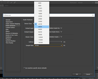 cara merekam suara di adobe audition cs6