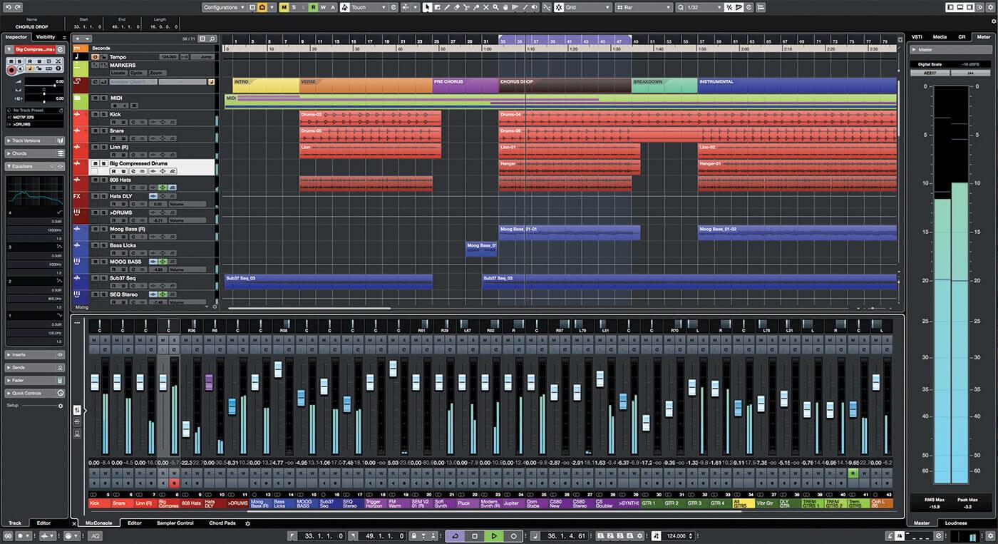 cubase mastering audio