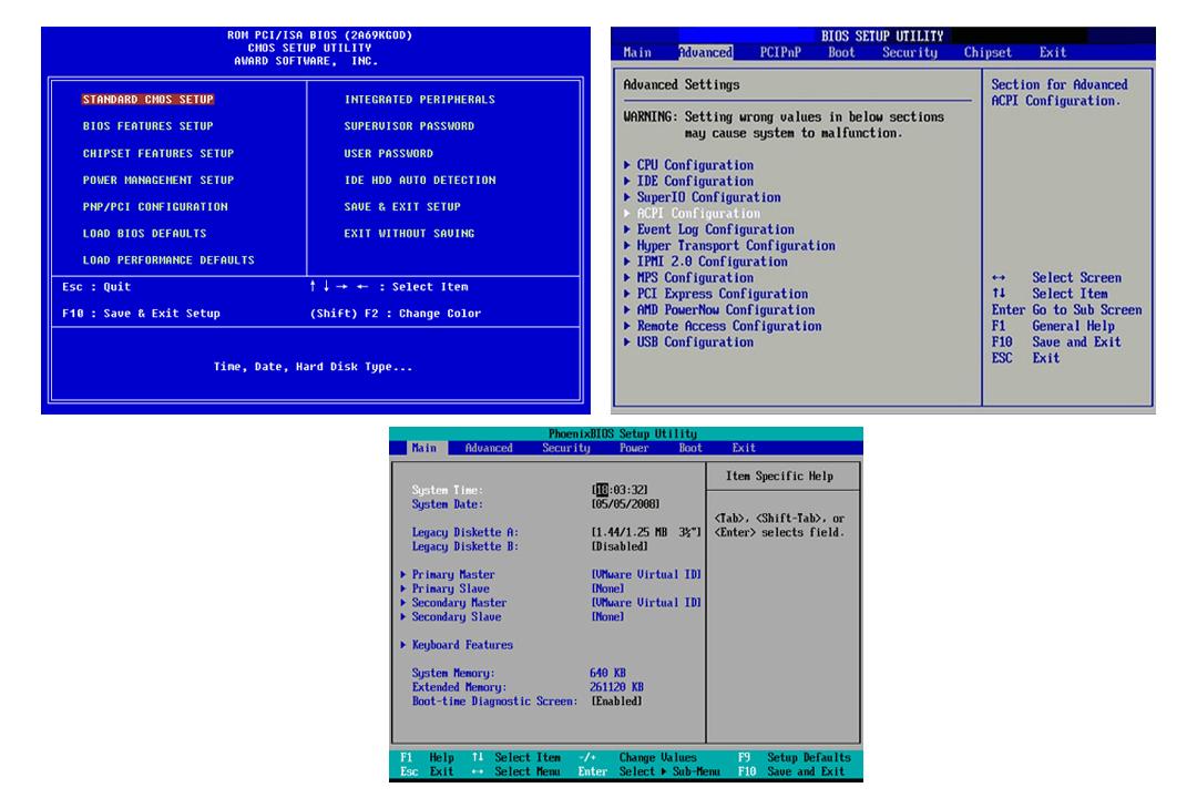 jenis jenis BIOS
