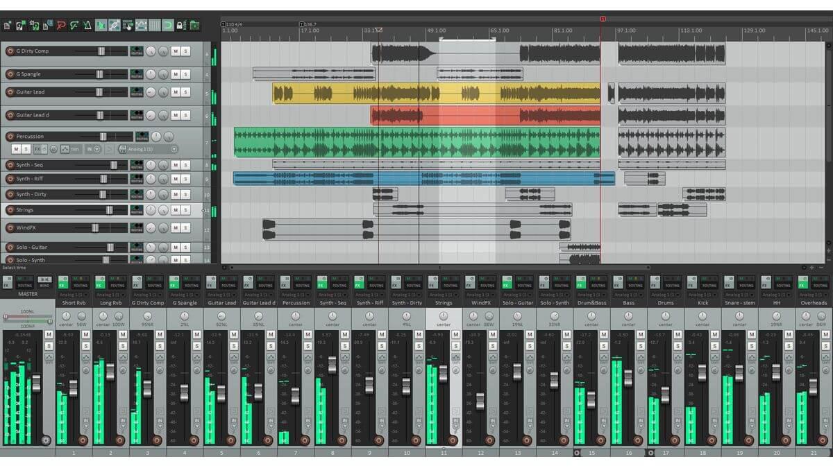 reaper audio mastering
