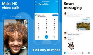 cara menggunakan skype di android