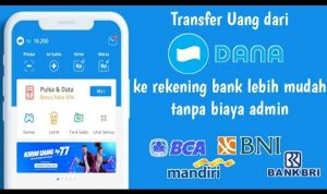 cara transfer dana ke rekening bank