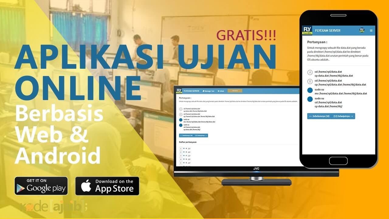 aplikasi ujian online