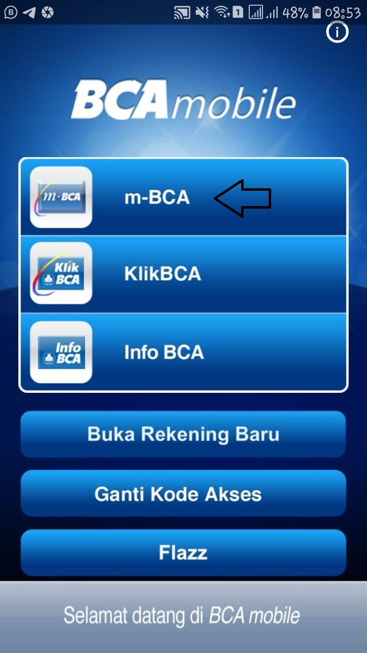 bca mobile linkaja
