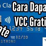 cara membuat vcc gratis 2020