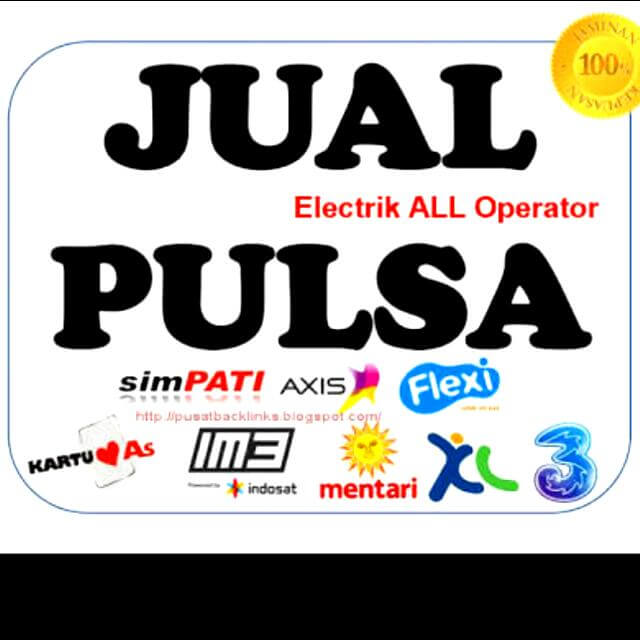 jual pulsa elektrik semua operator