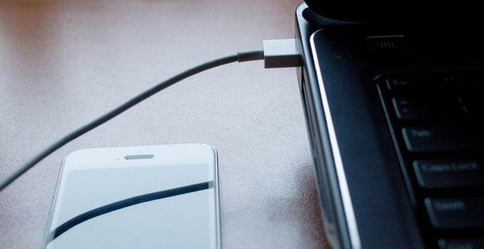 cara mirror hp ke laptop dengan kabel