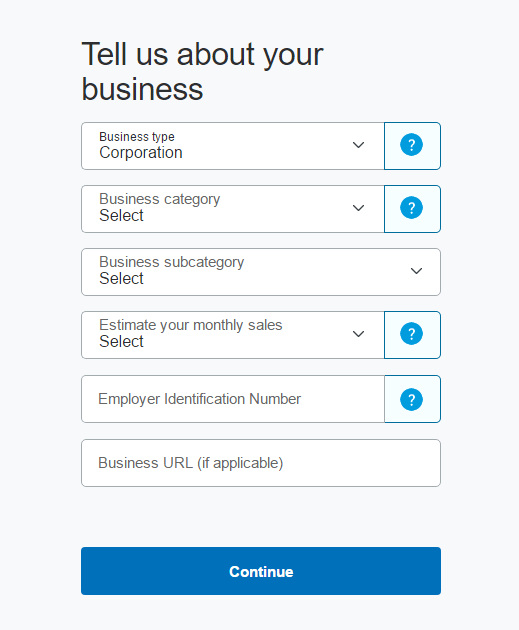 tell me your business paypal