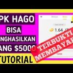 cara mendapatkan uang dari hago