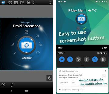 aplikasi screenshoot android terbaik 2020 Droid Screenshot Free