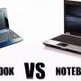 perbedaan notebook dan netbook