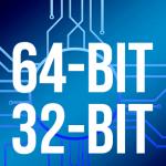 cara menjalankan aplikasi 64 bit di 32 bit