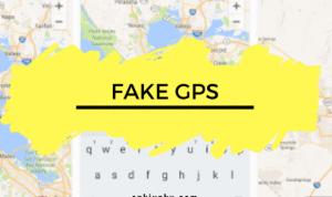 cara menggunakan fake gps location
