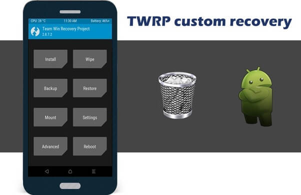 cara uninstal twrp recovery