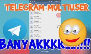 cara membuat banyak akun telegram