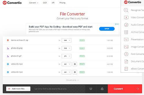download convertio