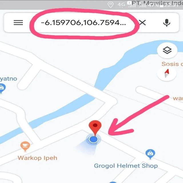 koordinat google maps