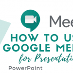 cara menampilkan power point di google meet