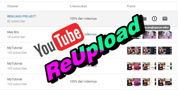 youtube reupload