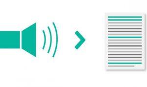 aplikasi pengubah suara menjadi teks di android