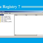 apa itu registry editor