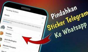 cara download stiker telegram ke whatsapp