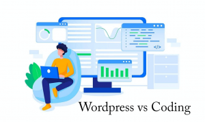wordpress vs coding
