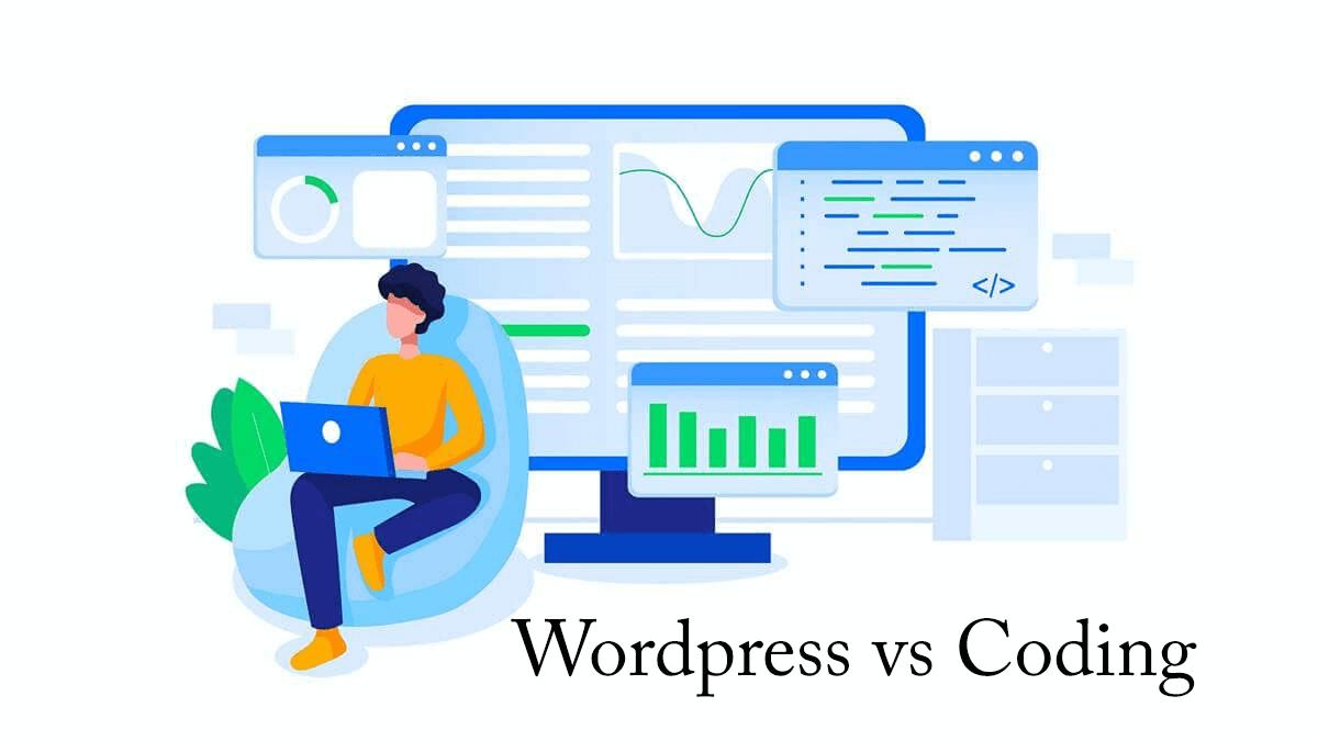 wordpress vs coding
