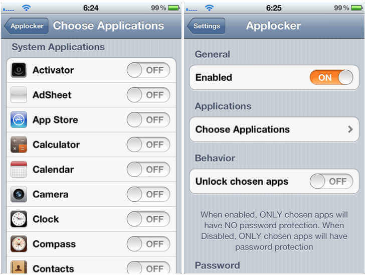 cara mengunci galeri di iphone applocker