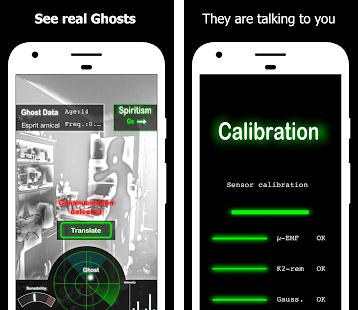 Ghost Observer Simulated Ghost Detector & Radar