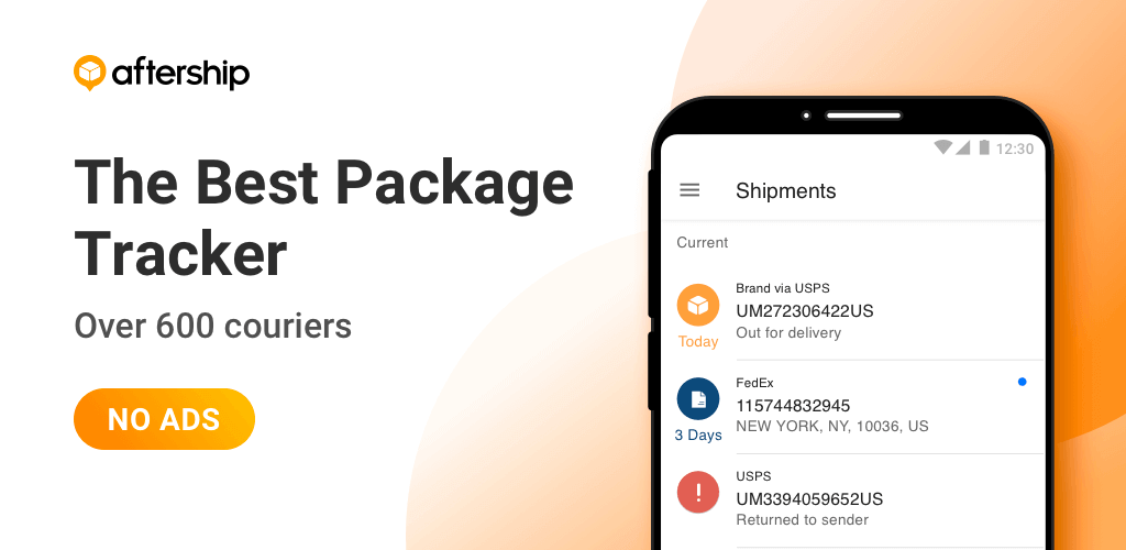 aftership package ship