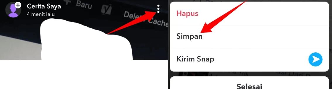 snapchat story save